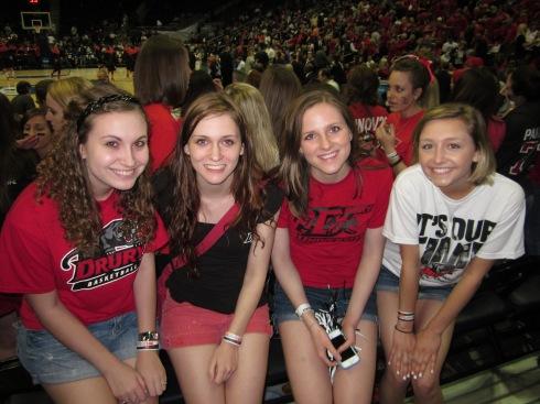 Me, Stacie, Hanna, and Morgan