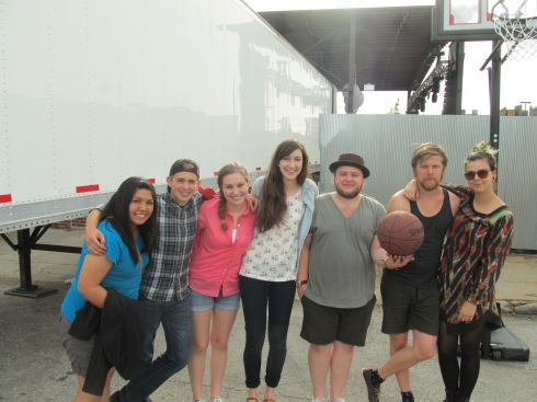 We met the Band